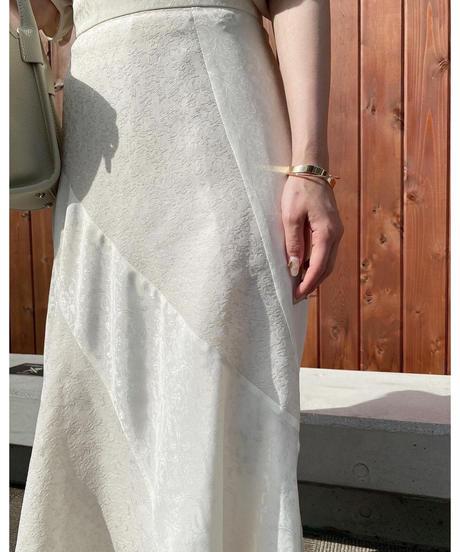 Acka original flower patchwork skirt