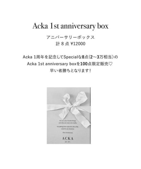 Acka 1st anniversary box