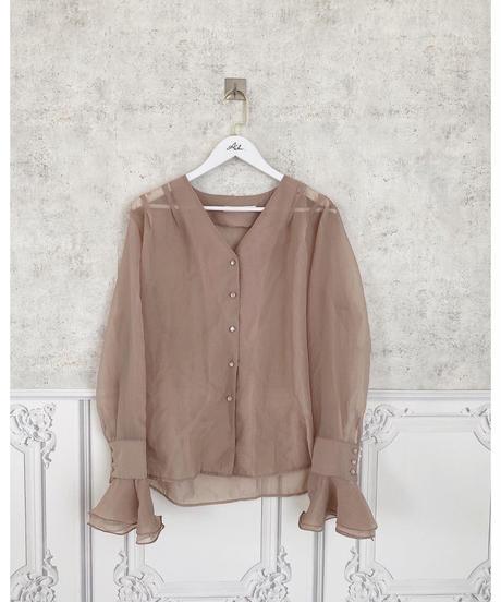 sheer shirt -FA427-
