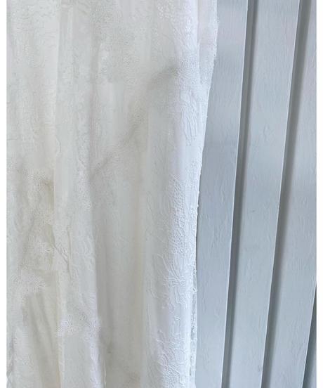 Acka original lace camisole one-piece