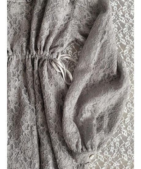 Acka original flower lace one-piece