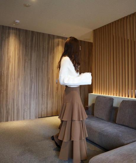 Acka original tiered skirt