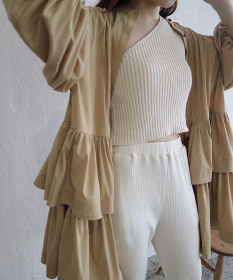 Acka original frill shirts one-piece