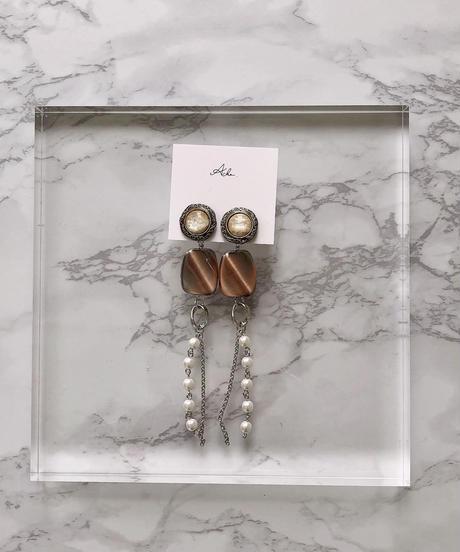 handmade  earring  -610-