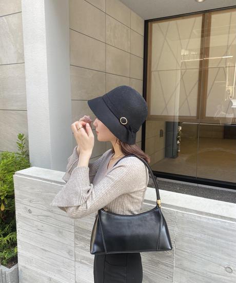 wool lady bucket hat