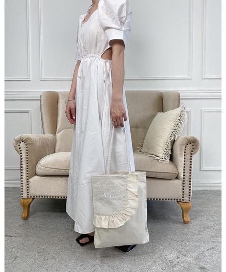 Acka original lace tote bag