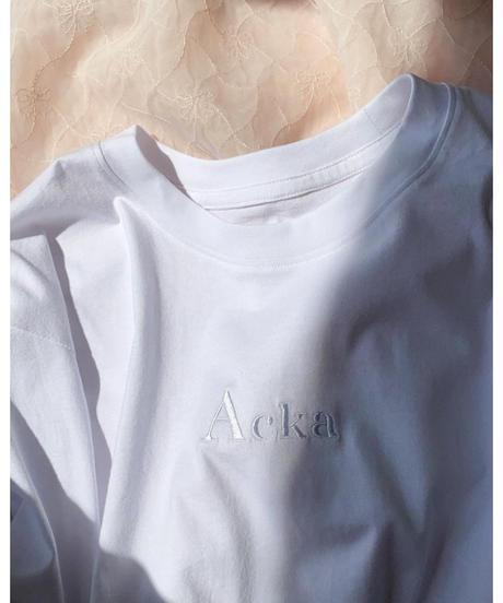 Acka original 刺繍tee -FA430-
