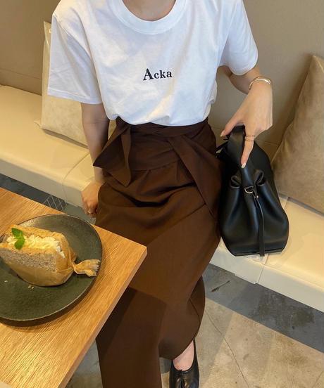 Acka original 刺繍tee