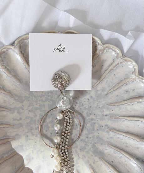 handmade 片耳earring  -619-