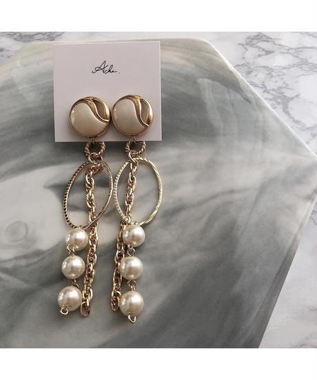 handmade  earring  -604-