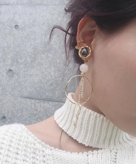 handmade  earring  -603-