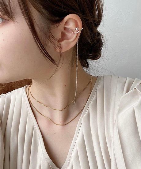 long chain ear cuff