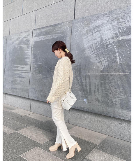 Acka original rib knit pants