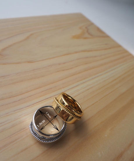 wide design ring