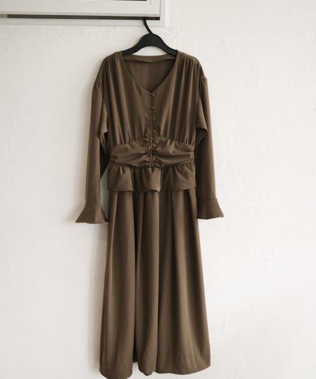 Acka original Vneck natural dress