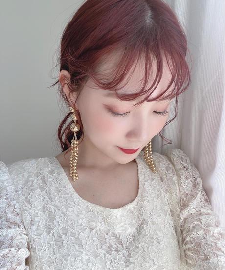 handmade pearl pierce