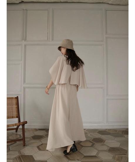 Acka original dot cape dress
