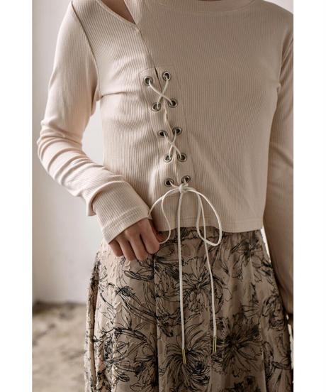 Acka original lace up tops