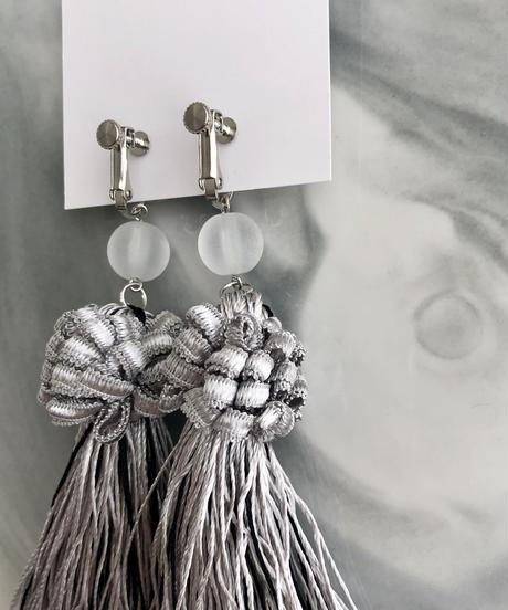 handmade  fringe earring  -634-