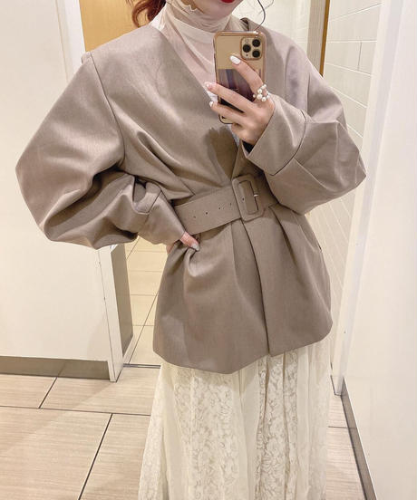 Volume sleeve  jacket