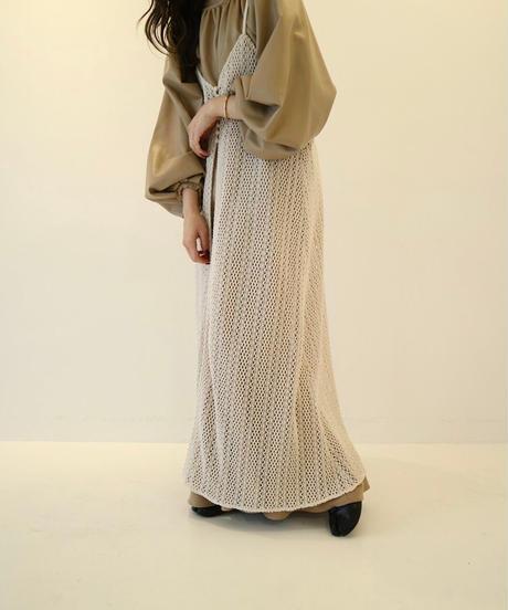 Acka original mesh camisole one-piece