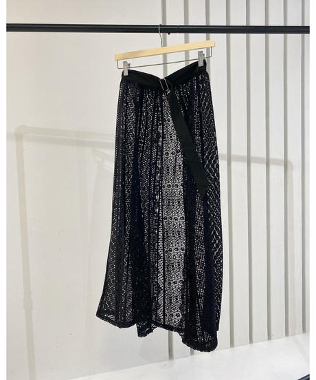 Acka original lace rolled skirt