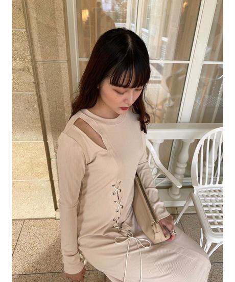 Acka original rib knit one-piece