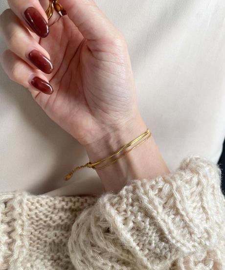 double low bracelet