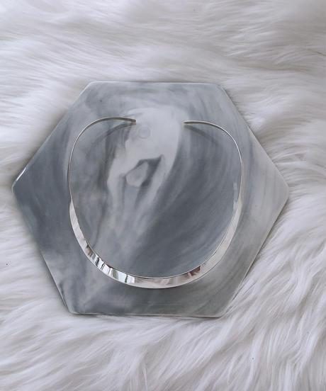 silver925 choker