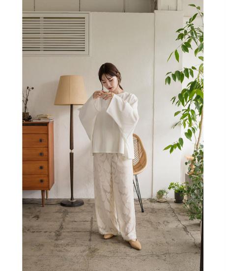 Acka original long 刺繍tee