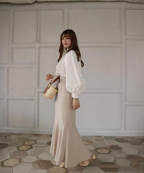 Acka original balloon sleeve blouse