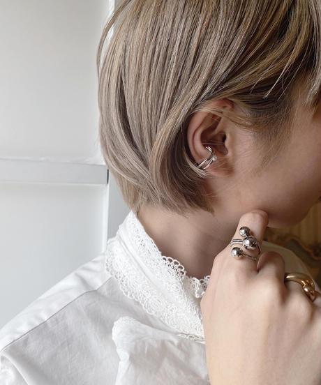 line__ pearl ear cuff  -318-