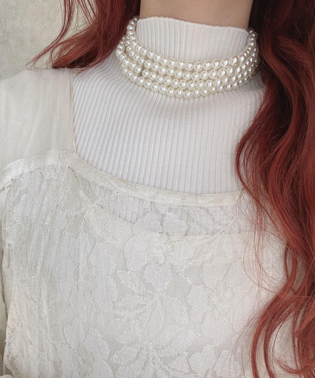 pearl necklace  -506-