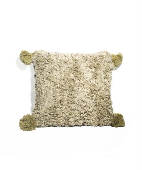 7.Cushion Cover S/ Purple gray×Beige(35×35)