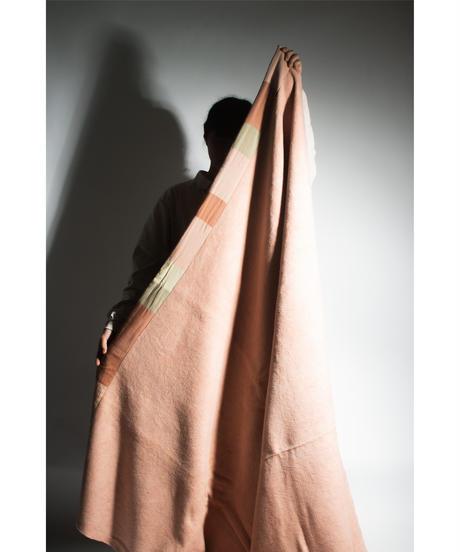 32.Organic cotton Blanket /Pink Beige