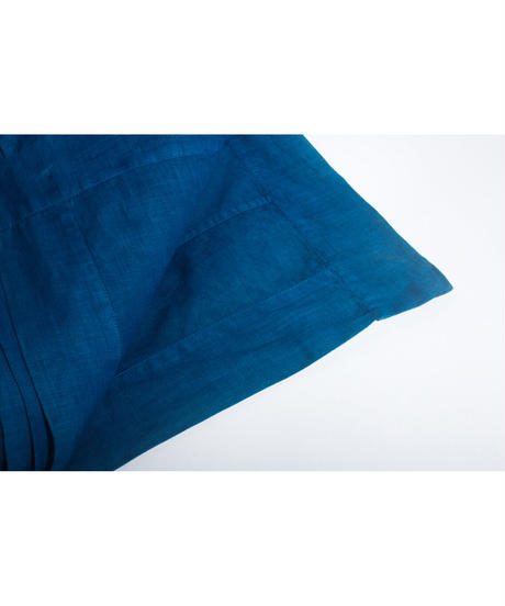 25.Patch work cloth /Indigo(100×177)