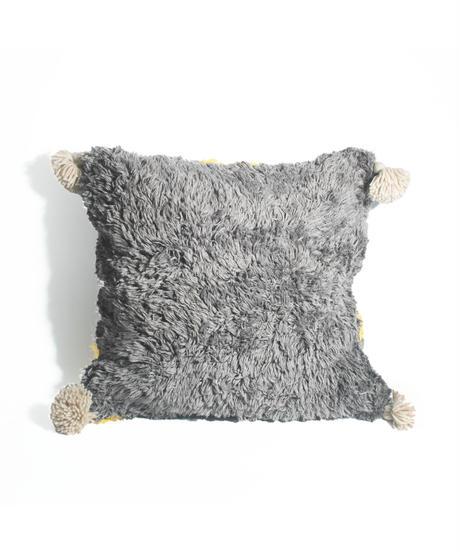 1.Cushion Cover M/ Gray×Yellow (45×45)