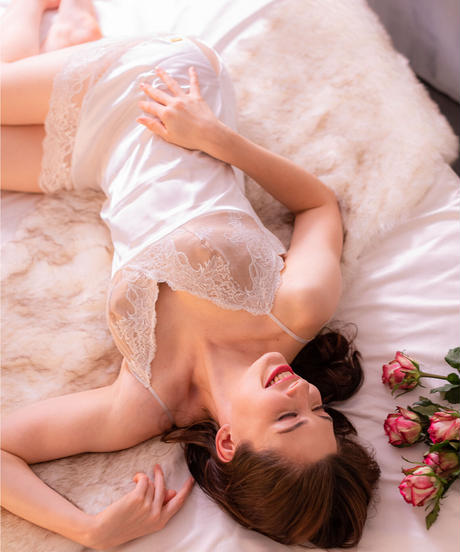 LUISA WHITE SLIP