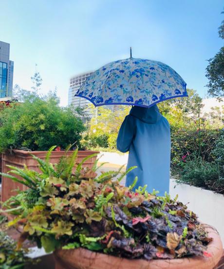 傘 〈花柄〉