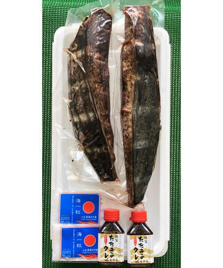 藁焼き生鰹の塩たたきセット 2節入り【冷蔵便】