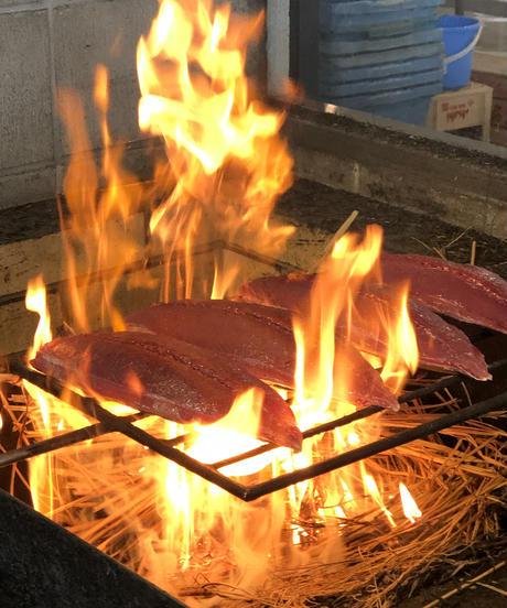 藁焼き生鰹の塩たたきセット 1節入り【冷蔵便】