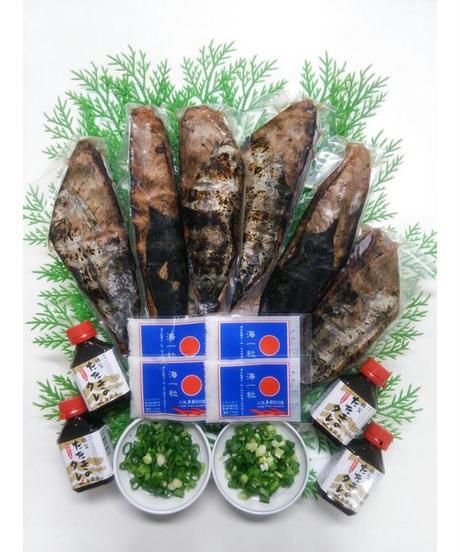 藁焼き鰹の塩たたきセット 約10~14人前【冷凍便】