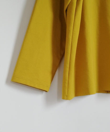 Divide High-neck C&W/YELLOW/19AW-019
