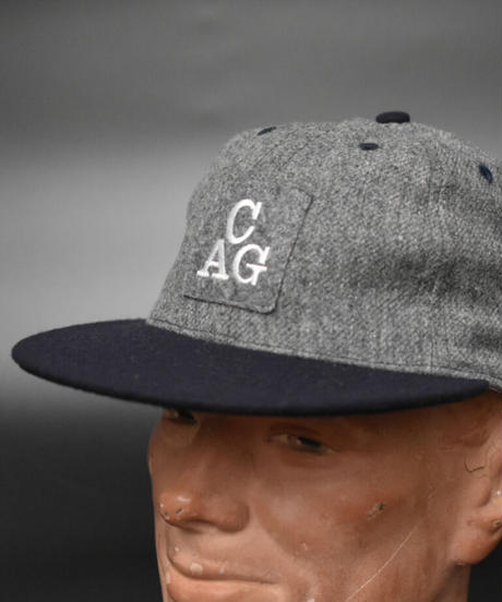 CHICAGO AMERICAN GIANTS1938 (M,GRAY / NAVY)