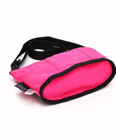 OVAL SHAPED BAG(Sサイズ)  HOT PINK