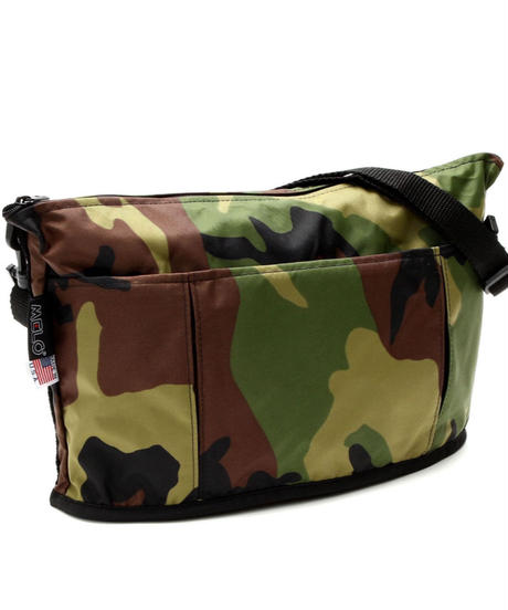OVAL SHAPED BAG(Lサイズ) WOODLAND CAMO