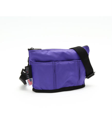 OVAL SHAPED BAG(Sサイズ)  PURPLE