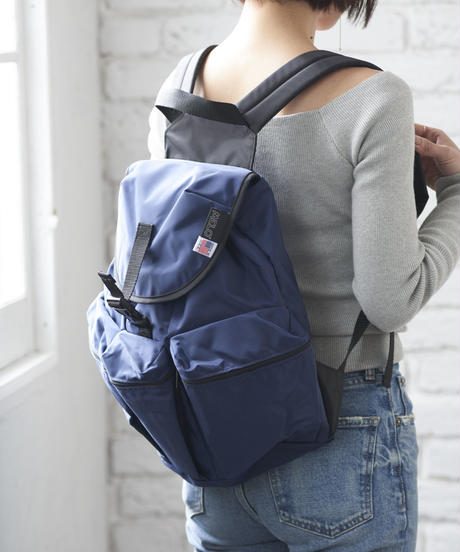3POCKET BACK PACK(Mサイズ) NAVY