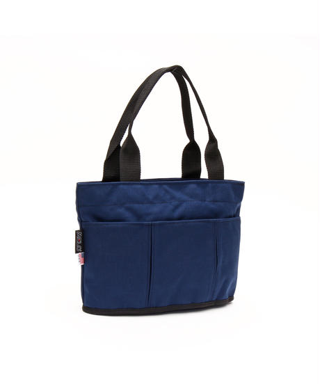 OVAL SHAPED TOTE BAG 1000D (Mサイズ) NAVY