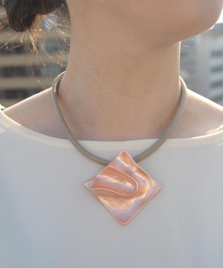 【Paris】プレートネックレス drape